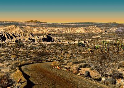 Desert Road to Somewhere