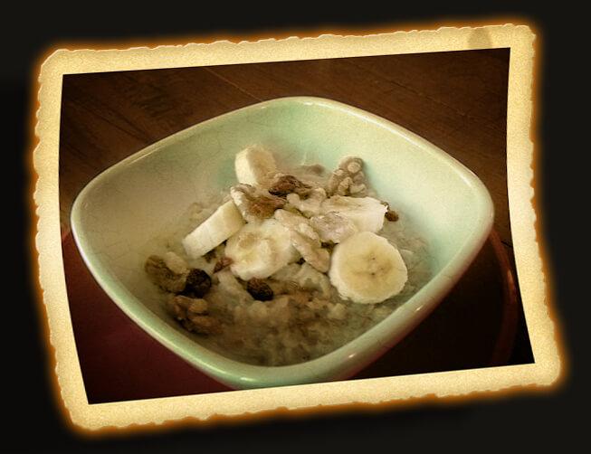 Hearty Bowl of Oatmeal