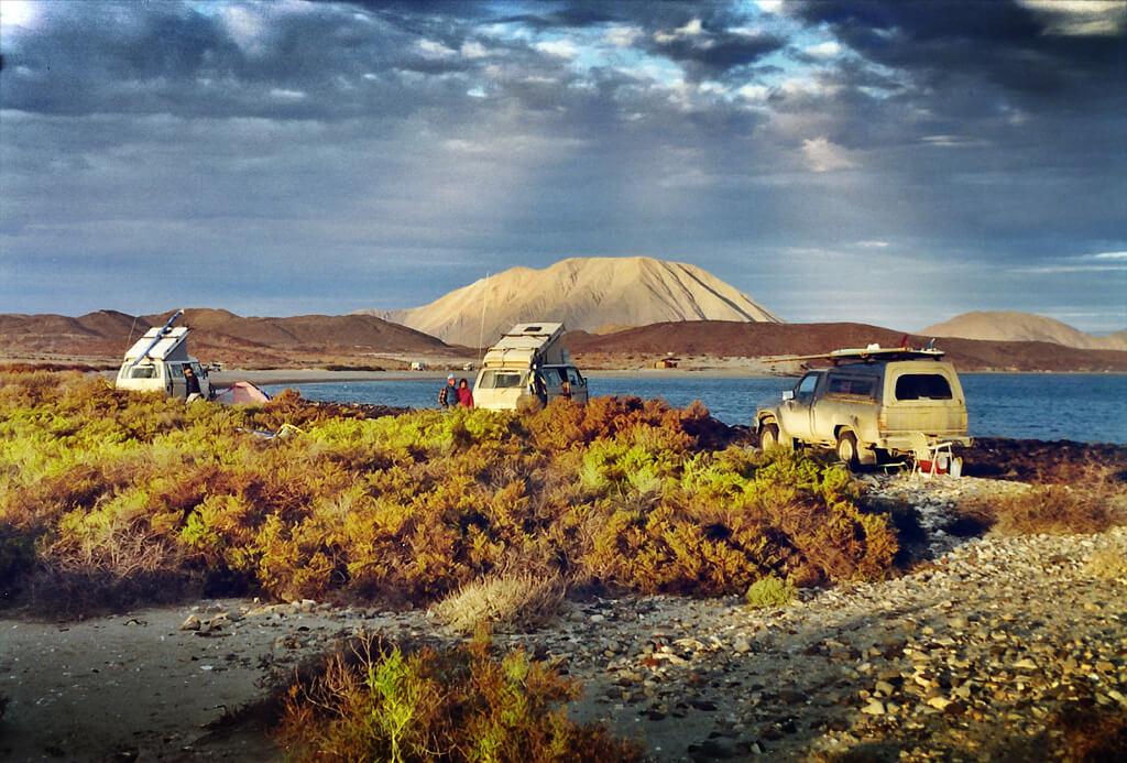 Vanagon Camping with Toyota at LA Bay